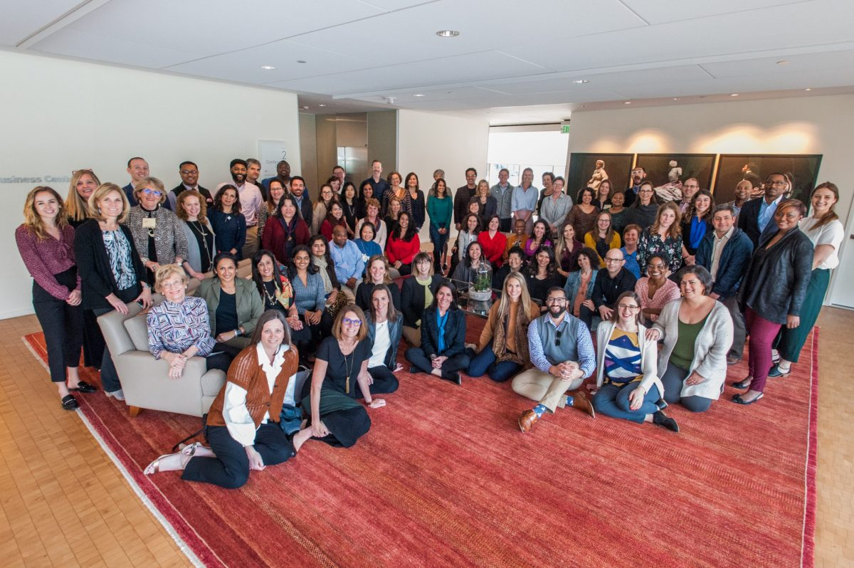 Co-Design group of giving circle leaders that formed Philanthropy Together gather to grow the giving circle movement