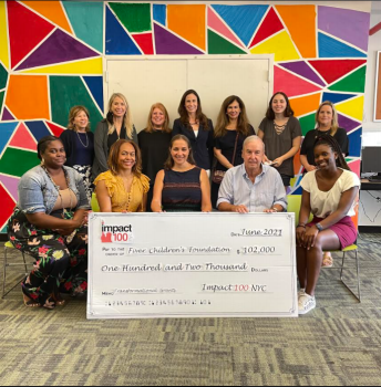 Impact NYC 100 and Grantee Partner Fiver Children's Foundation
